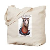 Hot Collar Belgian Draft Horse Tote Bag