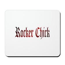 Rocker Chick Mousepad