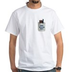 Pocket Protector White T-Shirt