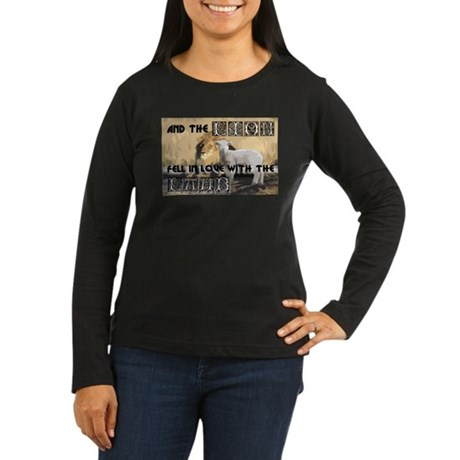 Twilight Movie Lion Lamb Women's Long Sleeve Dark