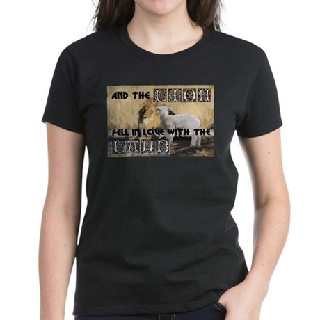 Twilight Movie Lion Lamb Women's Dark T-Shirt