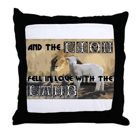 Twilight Movie Lion Lamb Throw Pillow