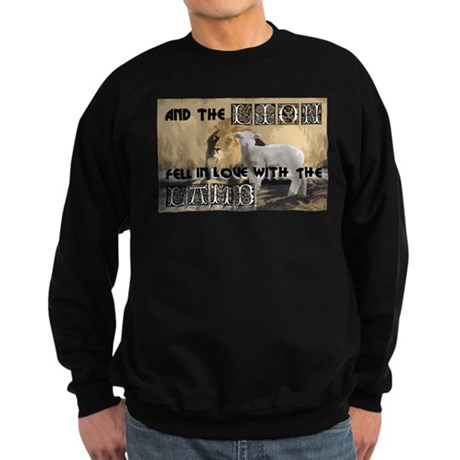 Twilight Movie Lion Lamb Sweatshirt (dark)