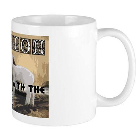 Twilight Movie Lion Lamb Mug