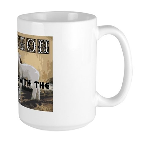 Twilight Movie Lion Lamb Large Mug