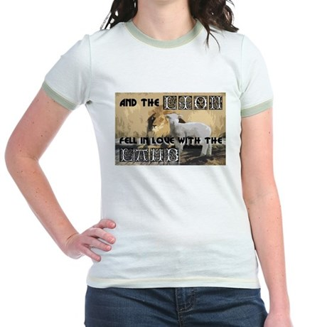 Twilight Movie Lion Lamb Jr. Ringer T-Shirt