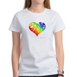 Brianna (Rainbow Heart) Tee