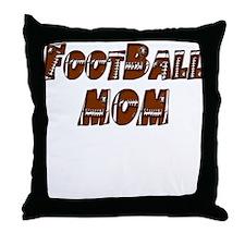 FootBall Mom Throw Pillow