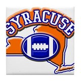 Syracuse Football Tile Coaster
