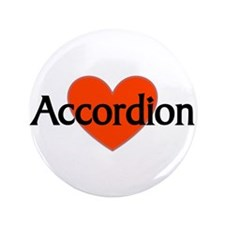 "Musicolicious Accordion Gift 3.5"" Button"