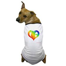 MIa (Rainbow Heart) Dog T-Shirt