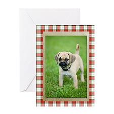 Puggle Christmas Card