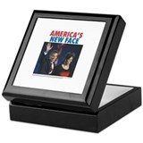 Obama: America's New Face Keepsake Box