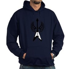 Flying V Hoodie (dark - version 1)