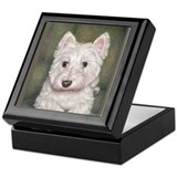 Westie Keepsake Box