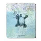 The Book of Mermaids Turtle Mousepad