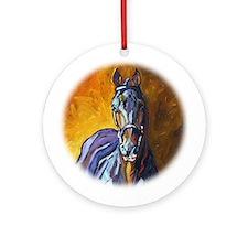 Cute Holsteiner Ornament (Round)
