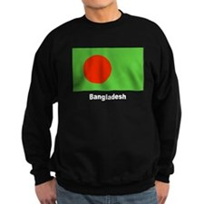 Bangladesh Flag Sweatshirt