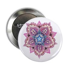 Lace and Faces Flower Button