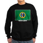 Washington State Flag Sweatshirt (dark)