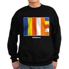 Buddhist Buddhism Flag Sweatshirt