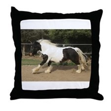 Gypsy Horse Throw Pillow