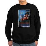 Proud American Flag Sweatshirt (dark)