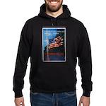 Proud American Flag Hoodie (dark)