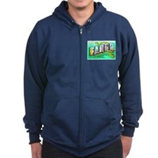 Fargo North Dakota Greetings Zip Hoodie
