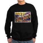 Oakland California Greetings Sweatshirt (dark)