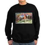 Rapid City South Dakota Greet Sweatshirt (dark)
