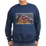 Saginaw Michigan Greetings Sweatshirt