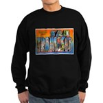 San Francisco California Gree Sweatshirt (dark)