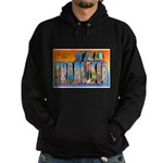 San Francisco California Gree Hoodie (dark)