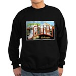 Seattle Washington Greetings Sweatshirt (dark)
