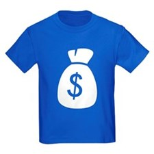 Money Bag Kid's T (white logo)