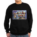 Bangor Maine Greetings Sweatshirt (dark)