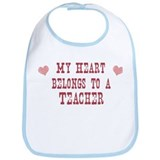 Belongs to Teacher Bib