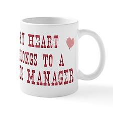 Belongs to Sales Manager Mug