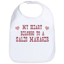 Belongs to Sales Manager Bib