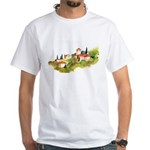 European Village White T-Shirt