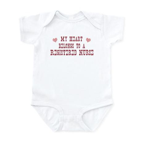 Belongs to Registered Nurse Infant Bodysuit