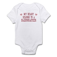 Belongs to Radiographer Infant Bodysuit