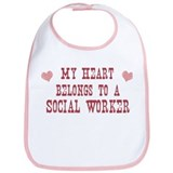 Belongs to Social Worker Bib