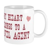 Belongs to Travel Agent Mug