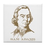 Sam Adams Tile Coaster