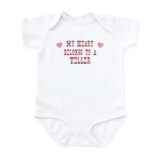 Belongs to Teller Infant Bodysuit
