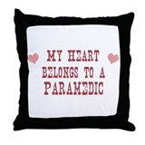 Belongs to Paramedic Throw Pillow