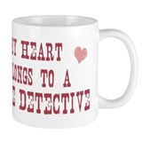 Belongs to Police Detective Mug