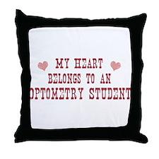 Belongs to Optometry Student Throw Pillow